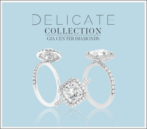 Delicate Enagagement Rings